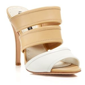 Alice and Olivia Graciella Strappy Slip on Heels